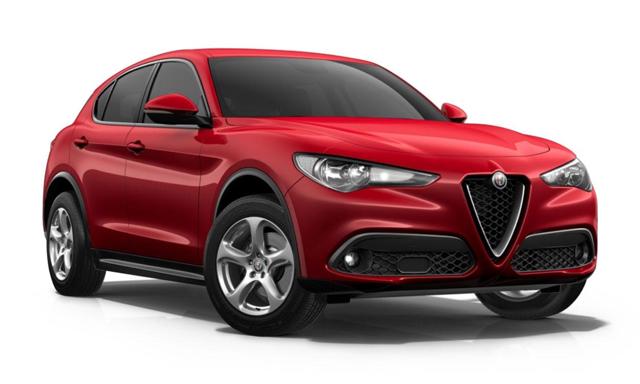 New Alfa Romeo Stelvio 2.2 D 190 Nero Edizione 5dr Auto