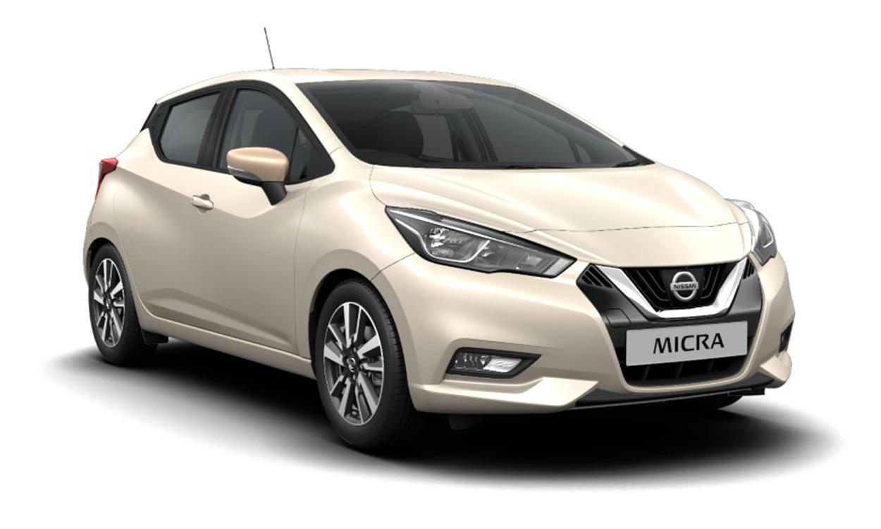 New Nissan Micra 1.0 Visia+ 5dr
