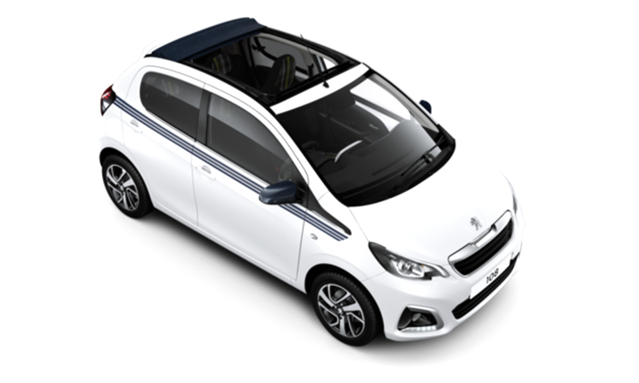 New Peugeot 108 Top! Cabrio Active