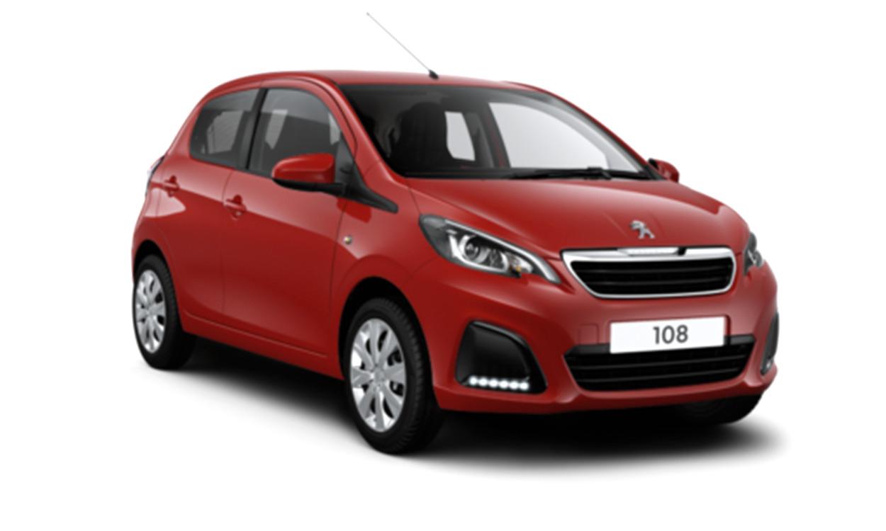 New Peugeot 108 Active