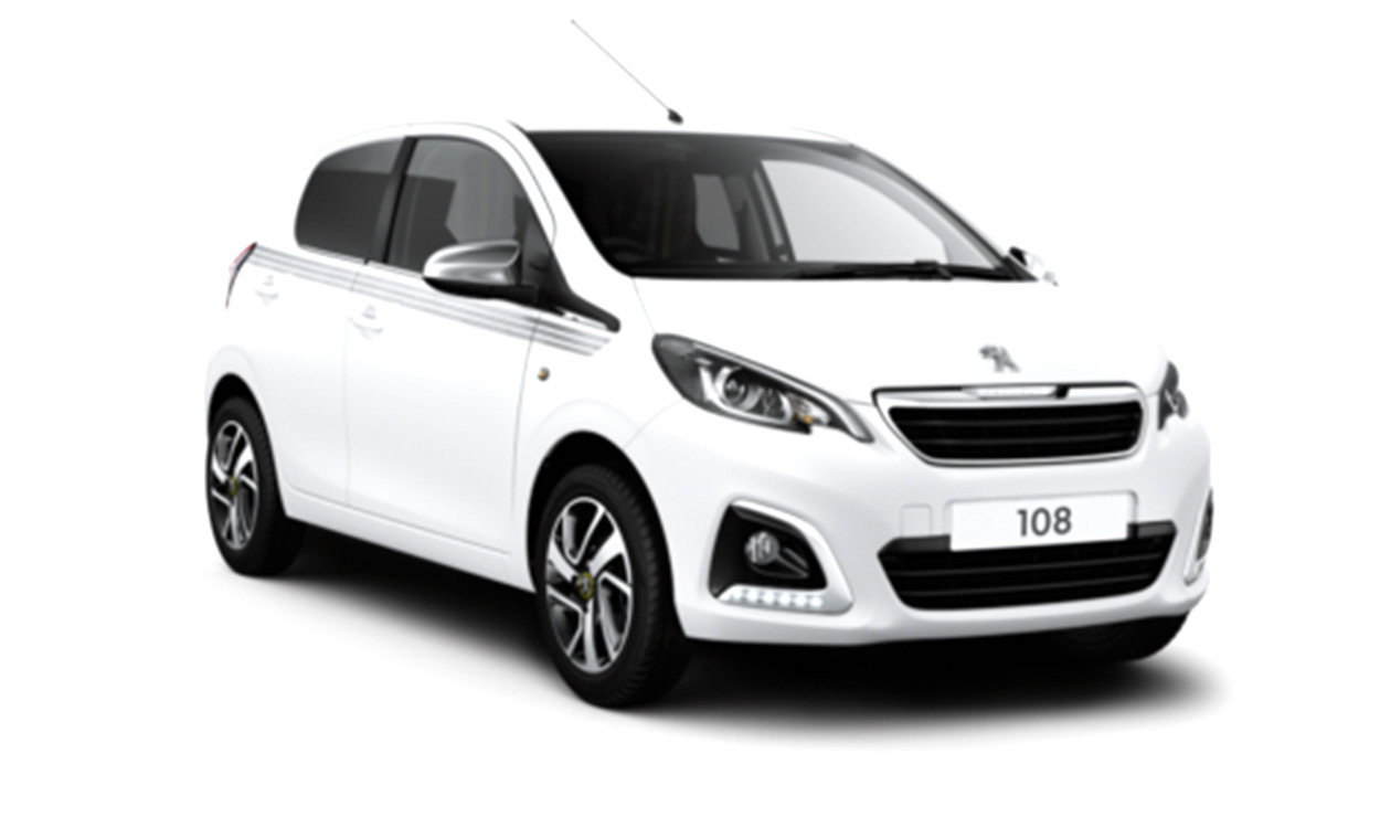 New Peugeot 108 Collection