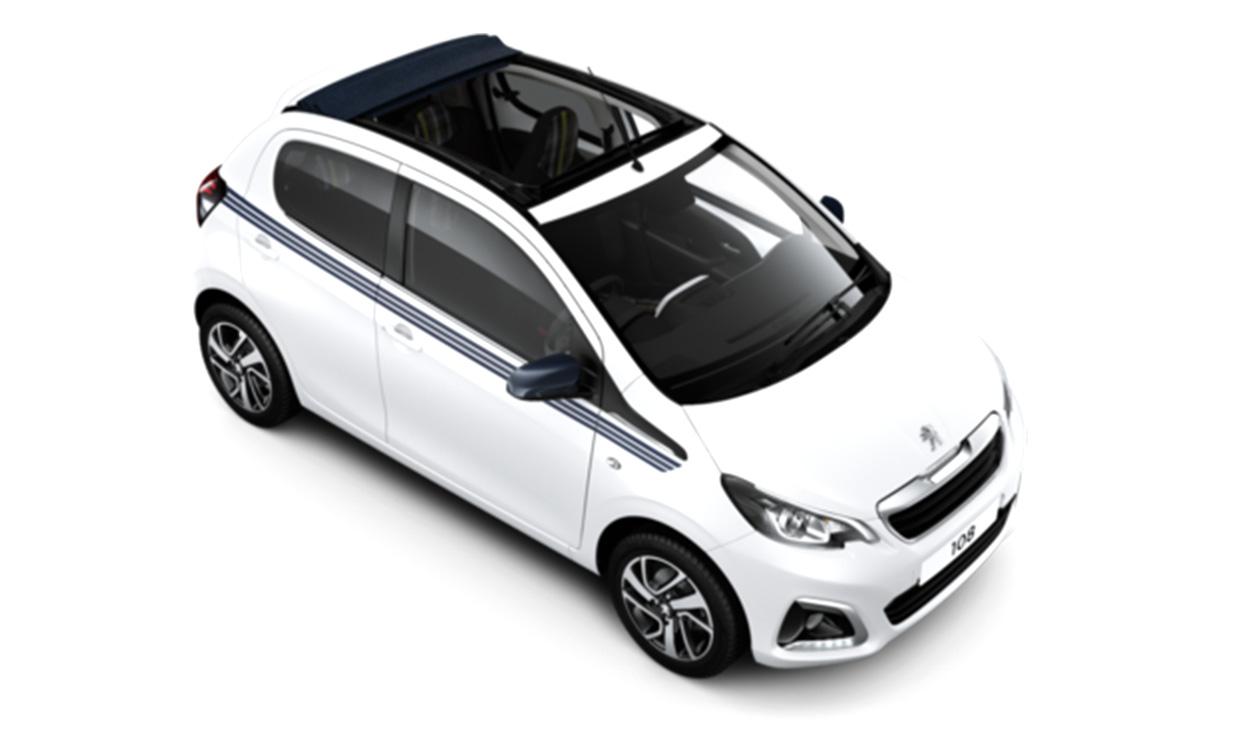 New Peugeot 108 Top! Cabrio Allure