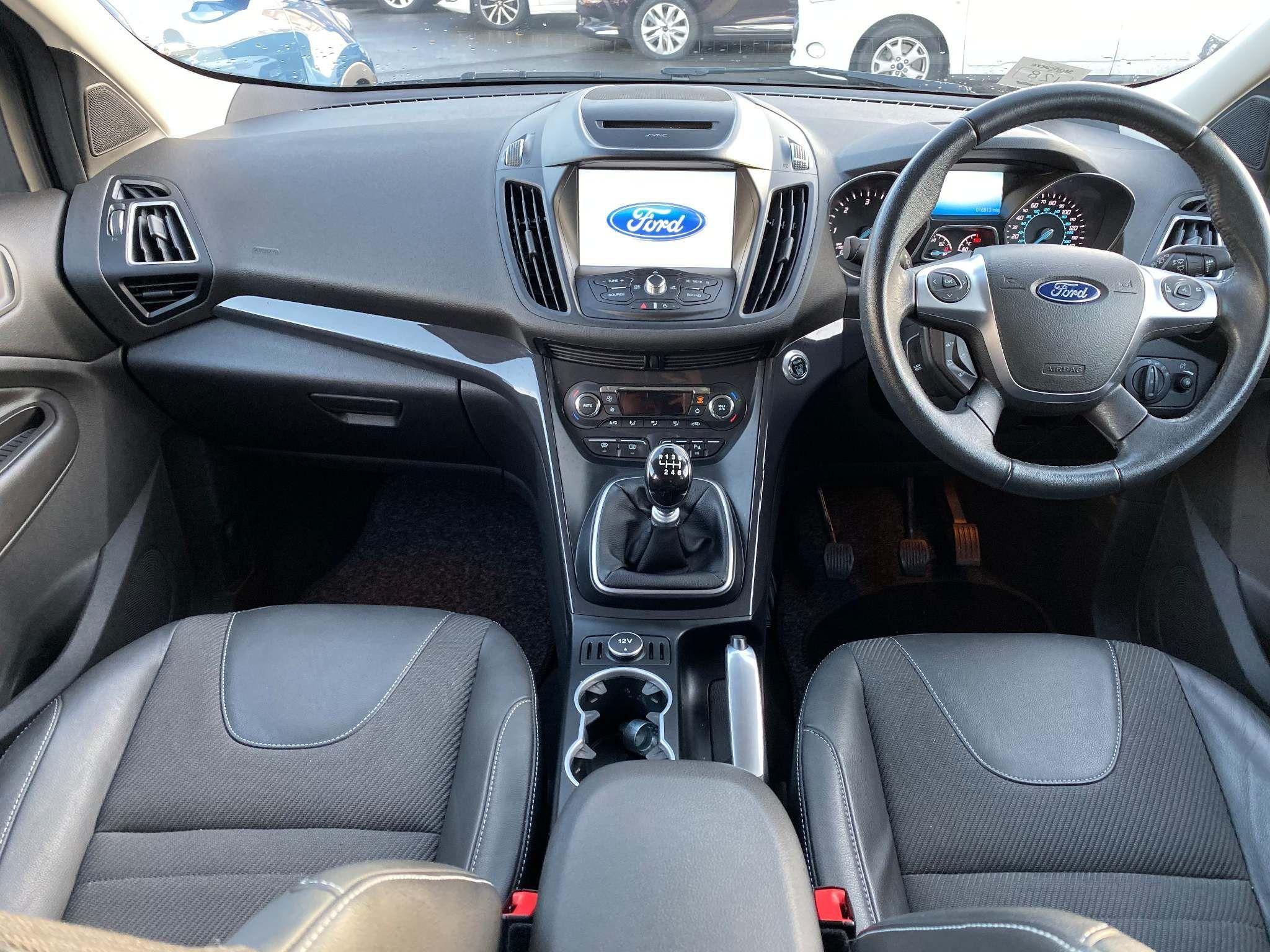 Ford Kuga 2.0 TDCi Titanium 5dr 2016 TRAX BLUE PANEL SEAT COVERS