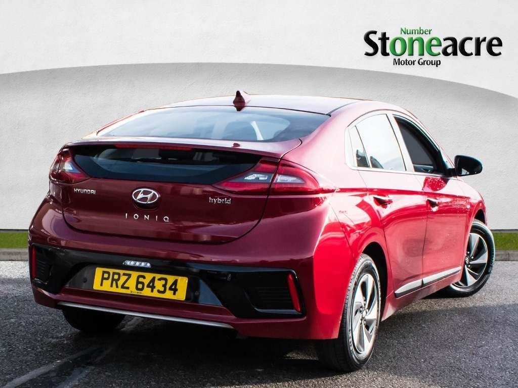 Used Hyundai Ioniq 1 6 Gdi Hybrid Premium 5dr Dct 2019 Prz6434 Stoneacre