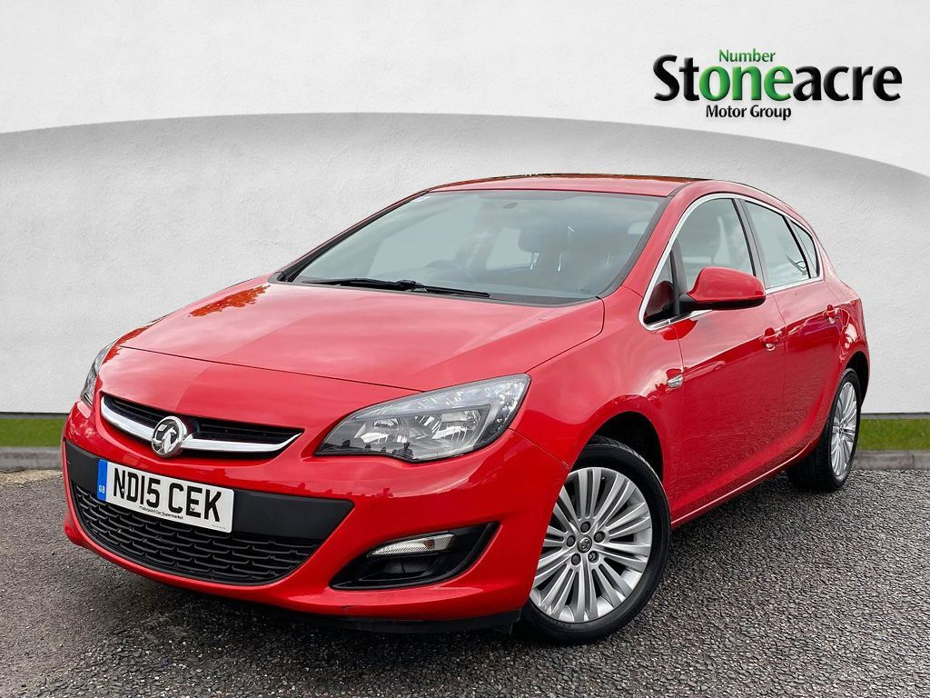 Used Vauxhall Astra 1.4i 16V Excite 5dr (ND15CEK) - Stoneacre